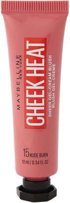Maybelline Cheek Heat Sheer Blusher Nude Burn