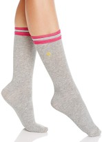 Kate Spade Wide Rib Welt Crew Socks