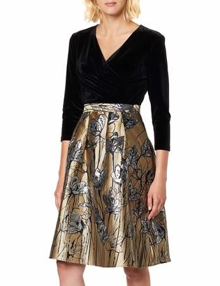 APART Fashion Women's Jacquard Dress Party