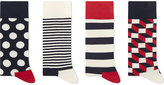 Happy Socks Assorted Cotton-blend Socks Pack Of Four