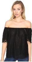 BB Dakota Curren Lace Off the Shoulder Top Women's Clothing