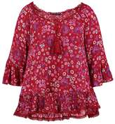 Evans FLORAL GYPSY Tunic purple