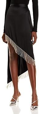 David Koma Embellished Fringe Skirt
