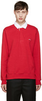 Noah Red Rugby Polo