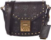 MCM Patrica Studded Visetos Shoulder Bag