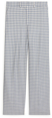 Arket Wide Checked Trousers