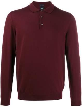 BOSS plain polo shirt