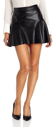 Twelfth St. By Cynthia Vincent by Cynthia Vincent Women's Faux Leather Mini Skirt