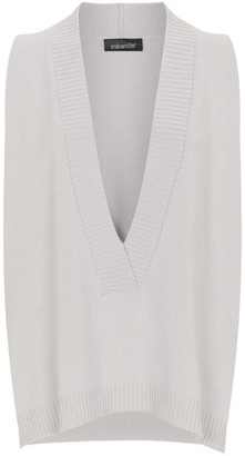 eskandar Sleeveless Cashmere Sweater