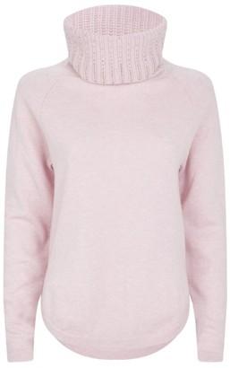 William Sharp Gem-Embellished Cashmere Rollneck Sweater