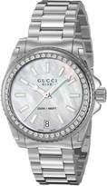 Gucci Women's YA136406 Analog Display Swiss Quartz Watch