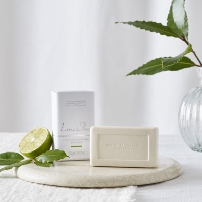 The White Company Lime & Bay Soap, No Colour, One Size