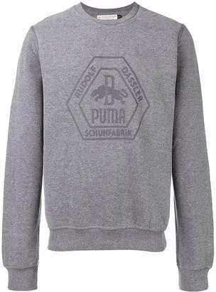 Puma Logo Crew Neck Sweatshirt