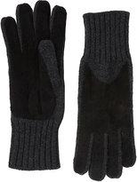 Barneys New York Women's Driving Gloves-BLACK