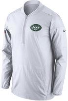 Nike Men's New York Jets Lockdown Half-Zip Pullover
