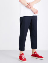 Oamc Zip-detail tapered regular-fit wool trousers