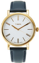 Timex TW2P63400 Gold-Tone & Navy Watch