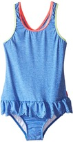 Seafolly Jewel Cove Action Back Tank Top (Toddler/Little Kids)