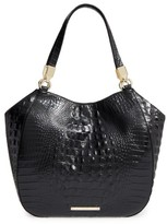 Brahmin Melbourne Marianna Leather Tote - Black