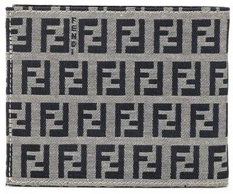 Fendi Pre Owned Zucca pattern bifold purse wallet