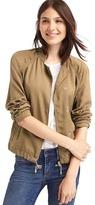 Gap Tencel® drapey drawstring jacket