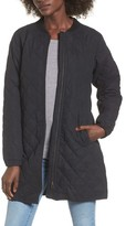 LIRA Women's Stone Longline Bomber Jacket