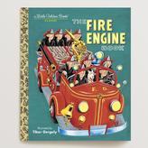 Cost Plus World Market The Fire Engine Book, a Little Golden Book