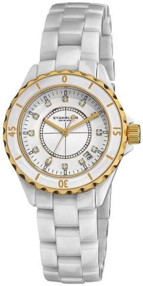 Stuhrling Original Fusion 374 74.13EP331 Stainless Steel & Ceramic 39mm Watch