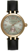 Ted Baker Women&s Quartz Leather Strap Watch