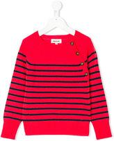 Zadig & Voltaire Kids striped jumper