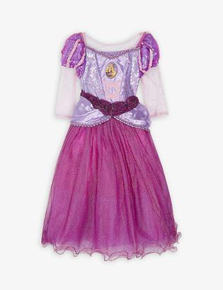 Dress Up Disney Princess Rapunzel fancy dress costume and tiara 3-4 years