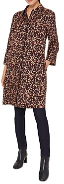 Hobbs London Aubery Geo Print Shirtdress