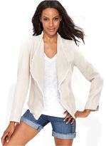 INC International Concepts Jacket, Shawl-Collar Linen