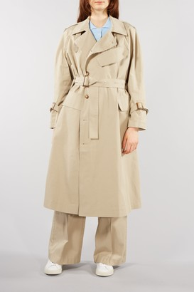 Lovechild - Sand Tatianna Military Style Coat - 36