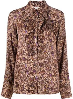 Zadig & Voltaire Ruffle Long-Sleeve Shirt