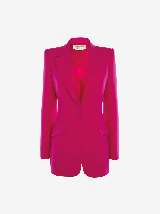 Alexander McQueen Light Wool Silk Jacket