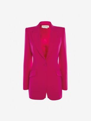 Alexander McQueen Light Wool Silk Jacket