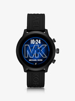 Michael Kors Gen 4 MKGO Black-Tone and Silicone Smartwatch