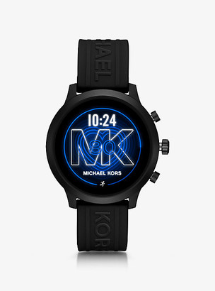 Michael Kors Gen 4 MKGO Black-Tone and Silicone Smartwatch
