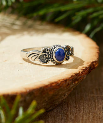 Lapis Moda Designs Women's Rings STERLING & Sterling Silver Textured Vine Circle Ring