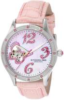 Stuhrling Original Women's Audrey Freedom Swarovski Watch 196SW.1115A9