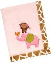 Carter's Jungle Fleece Blanket