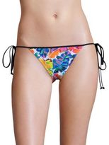 Milly Banana Leaf Biarritz String Bikini Bottom