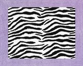 JoJo Designs Funky Zebra Accent Floor Rug by Sweet