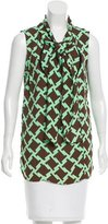 Marni Silk-Blend Printed Top