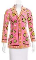 Emilio Pucci Velvet Printed Blazer