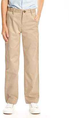 Old Navy Stain-Resistant Uniform Straight Khakis for Boys