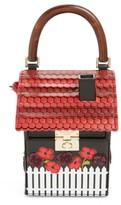Kate Spade Ooh La La Cuckoo Clock Leather Handbag - Black