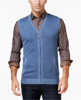 Tasso Elba Men's Big and Tall Zip-Up Texture Vest, Only at Macy's
