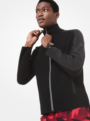Michael Kors KORS X TECH Mixed-Media Jacket